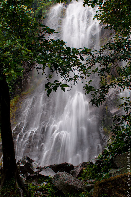 Водопад Нангка