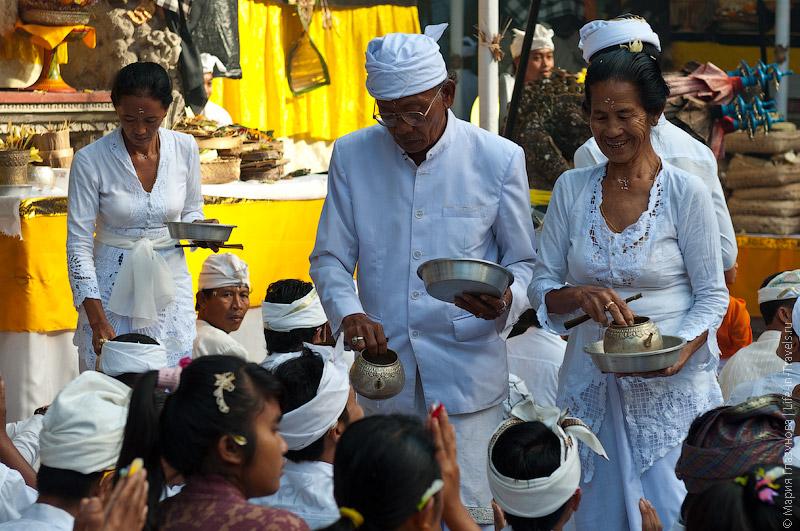Церемония освящения