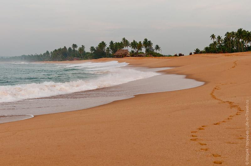 Пляжи в Тангалле