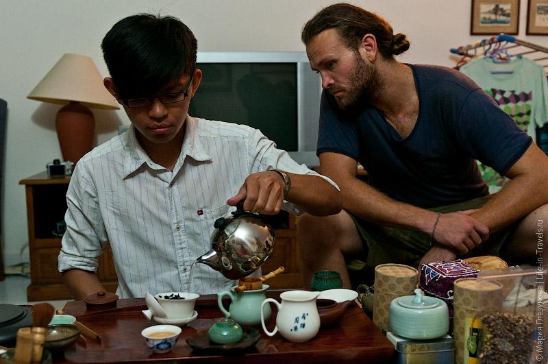 Чайные церемонии на Пенанге