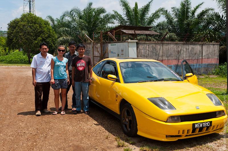 Автостоп в Малайзии