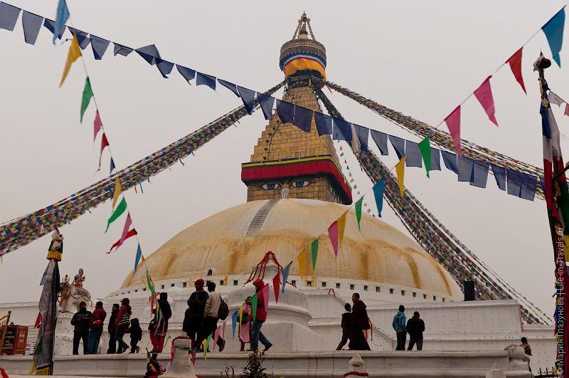 Ступа Бодхнатх в Катманду