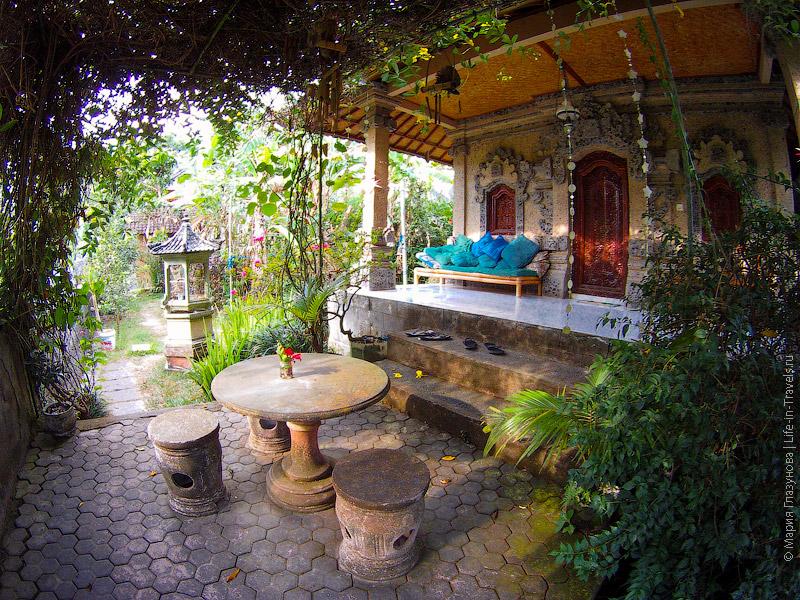 Наш домик в Убуде
