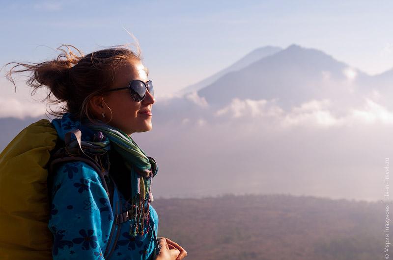 Подъём на вулкан Батур