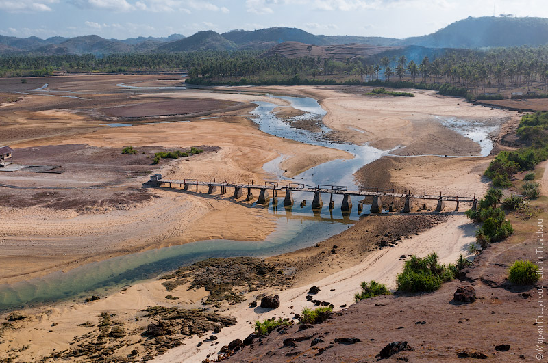 Речная долина Ломбока