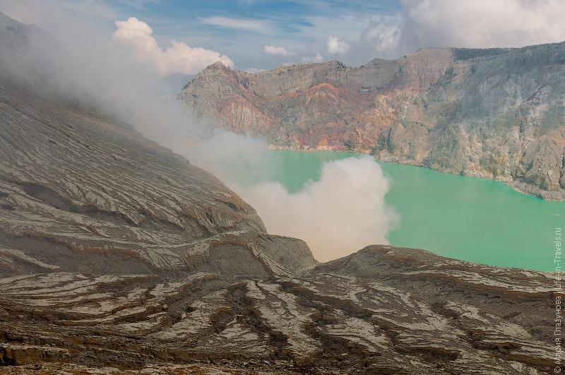 Вулкан Иджен, Ява