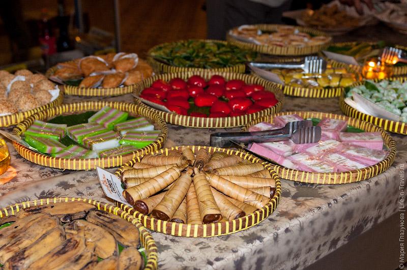Яванские сладости