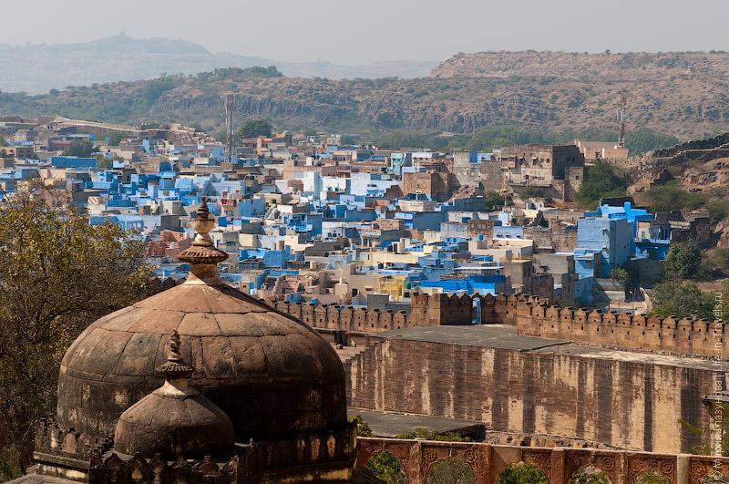 Голубой город Джодхпур