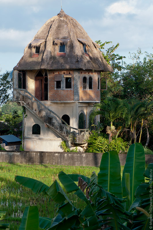 Оригинальный дом в Убуде