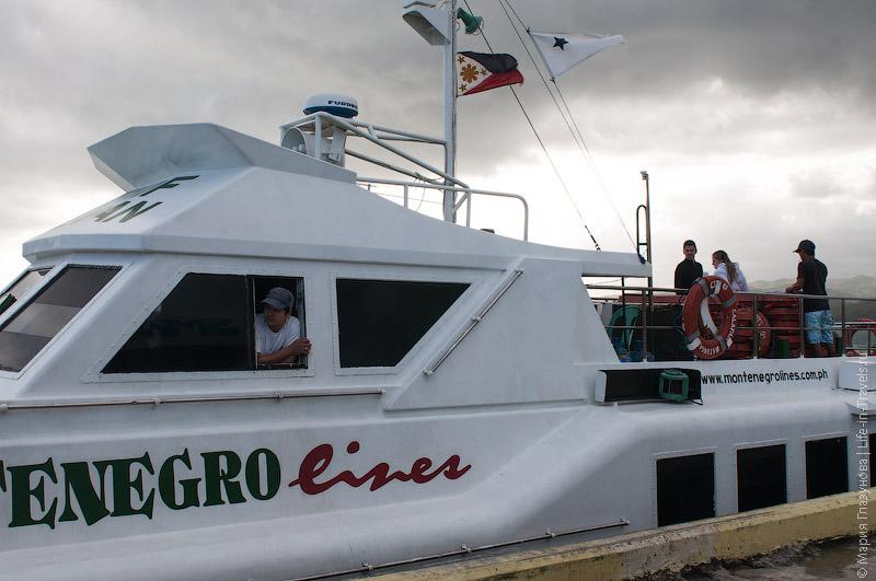 Морской транспорт на Боракае