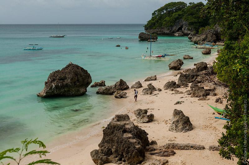 Секретный пляж между пляжами Dinivid и Punta Bunga