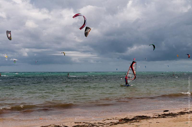Кайт и винд сёрфинг на Боракае