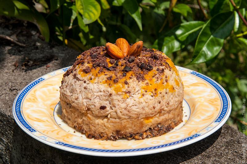 Сыроедческий десерт