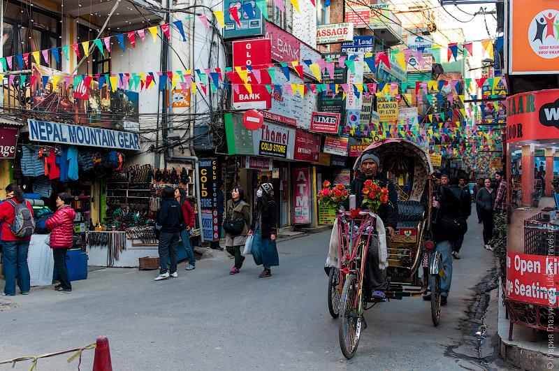 Тамель в Катманду