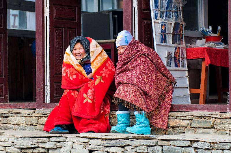 Зима в Непале