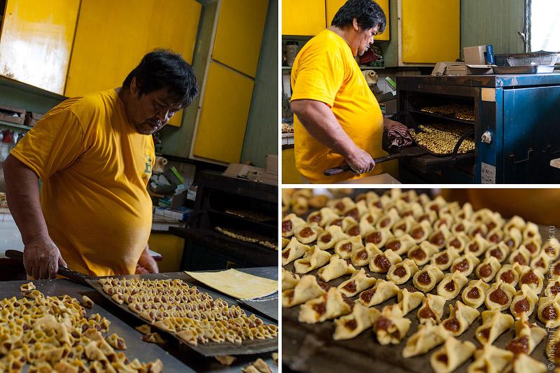 Изготовление мангового печенья
