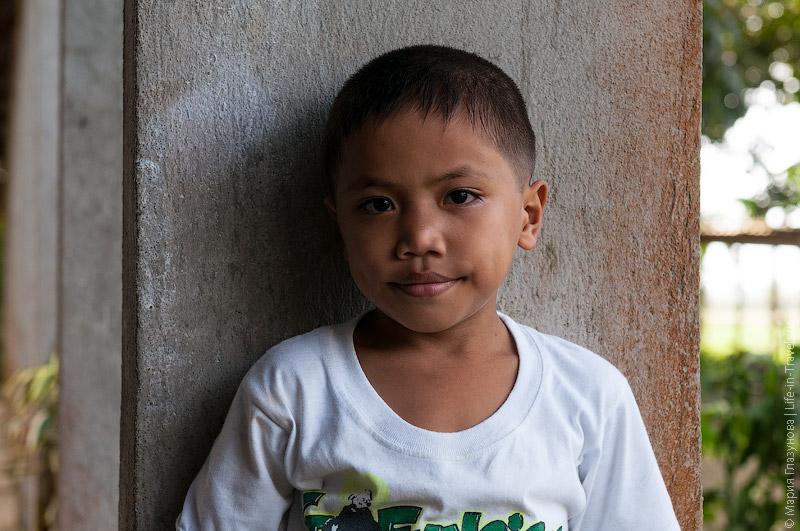 Филиппинский школьник