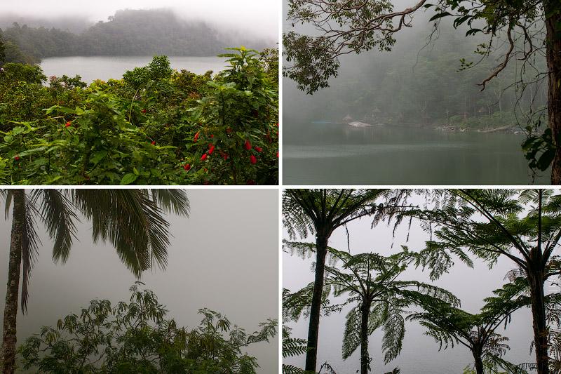 Туман над озёрами