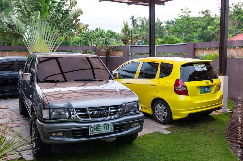 Машины на Филиппинах