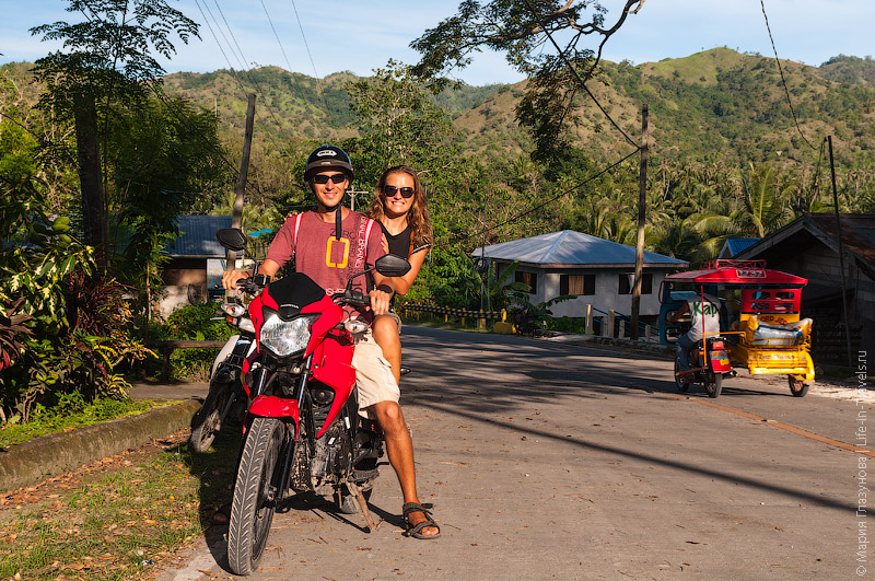 Аренда мотоцикла на Филиппинах