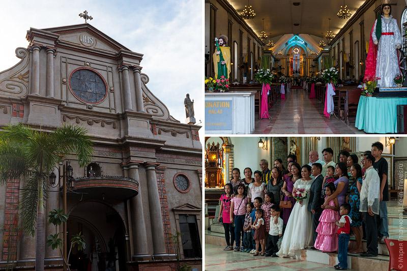 Католическая церковь в Думагете