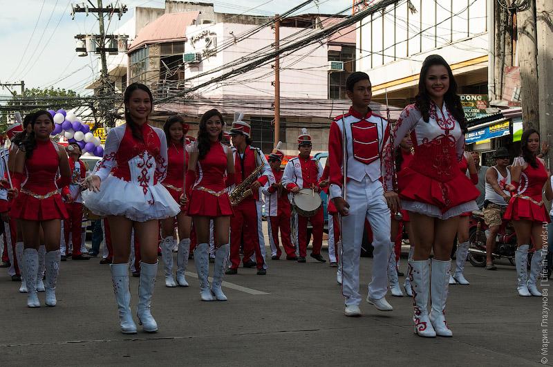 Парад на главной улице