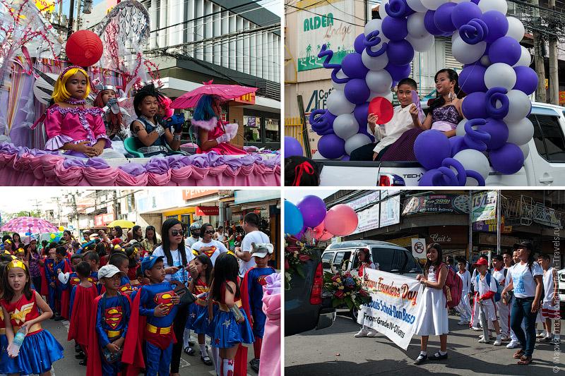 Парад карнавал на Филиппинах