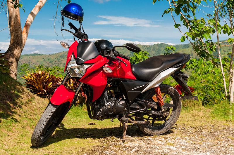 Наш красавец – мотоцикл Хонда