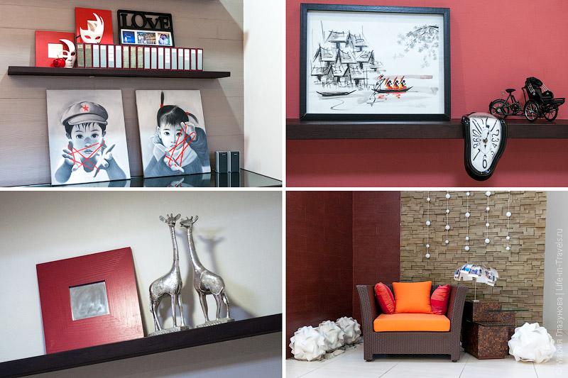 Дизайн в гостинной