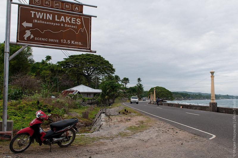Дорога на Twin Lakes