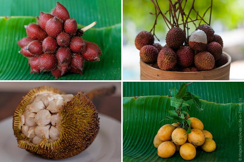 Тропические фрукты Азии