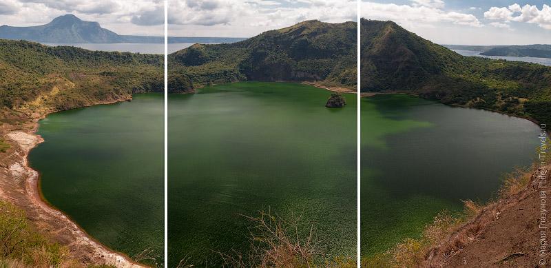 Озеро в краторе