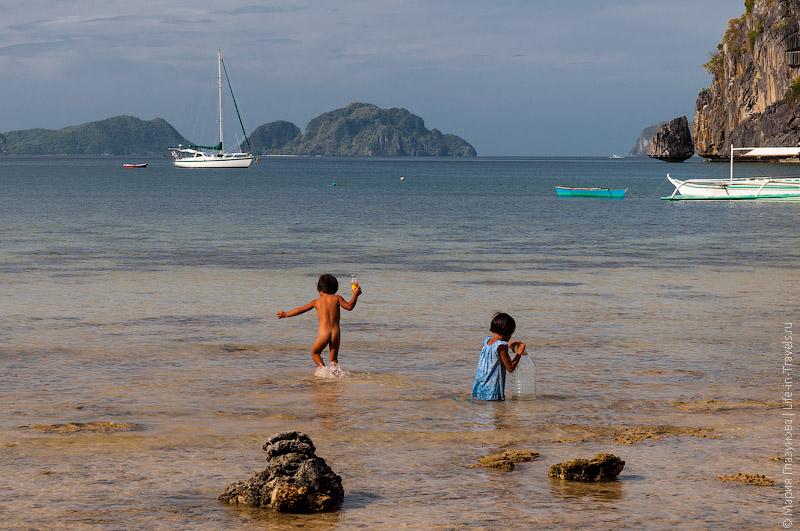 Пляж Корон-Корон