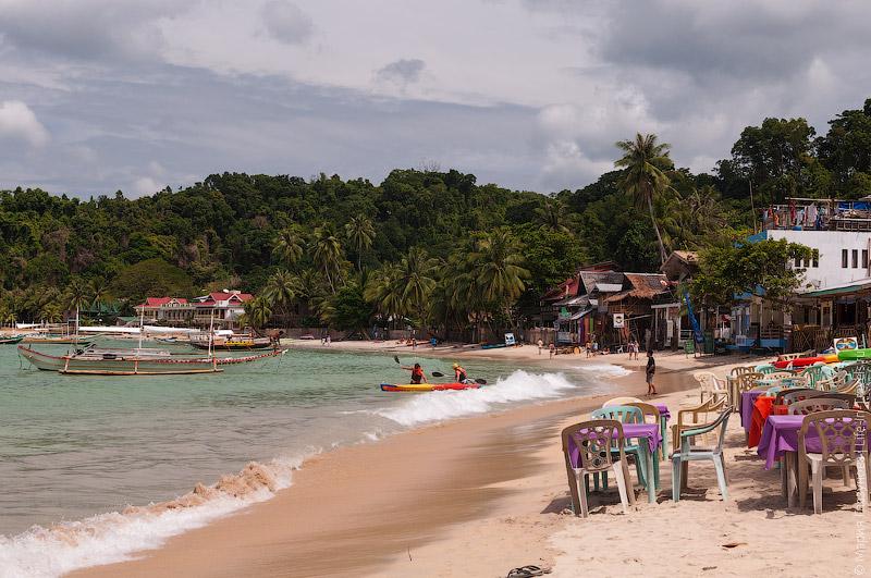Пляжные кафе в Эль Нидо
