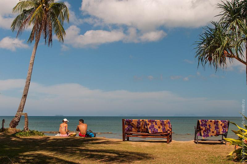 Ко Ланта, пляж