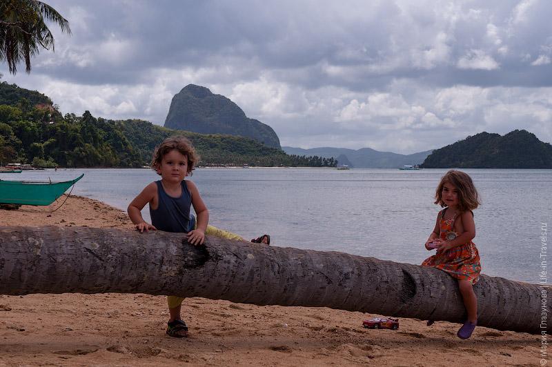 Отдых с детьми в Эль Нидо