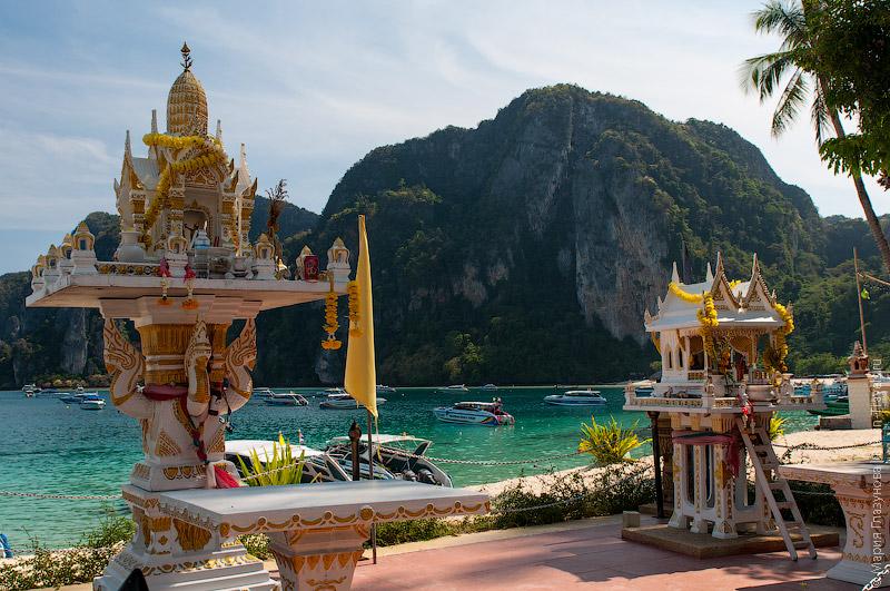 Тайские храмики для подношений