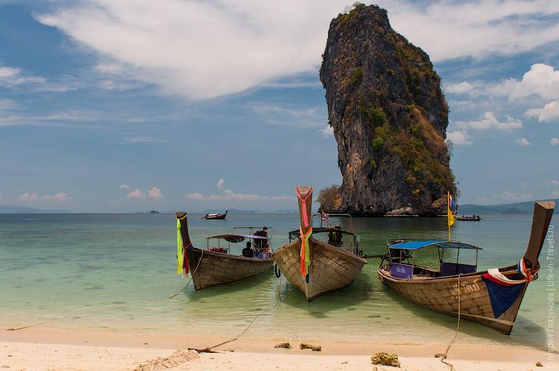 Белоснежные пляжи Таиланда