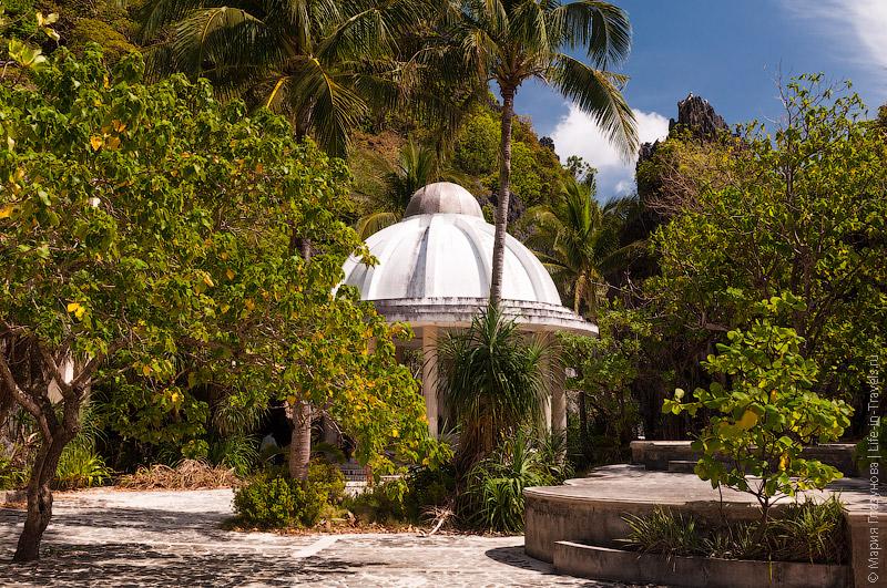 Остров Матинлок с храмом девы Марии