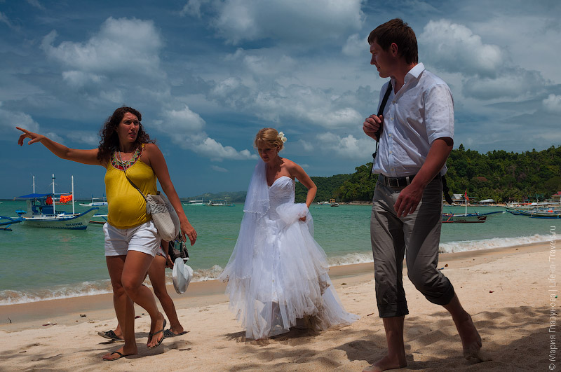Свадьба на тропическом острове