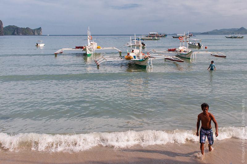 Туристические лодки в Эль Нидо