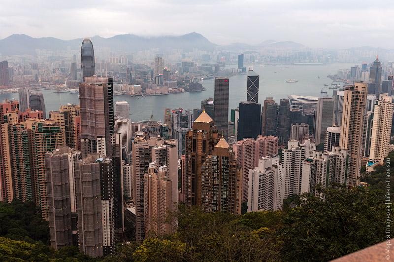 Пик Виктория – вид на Гонконг