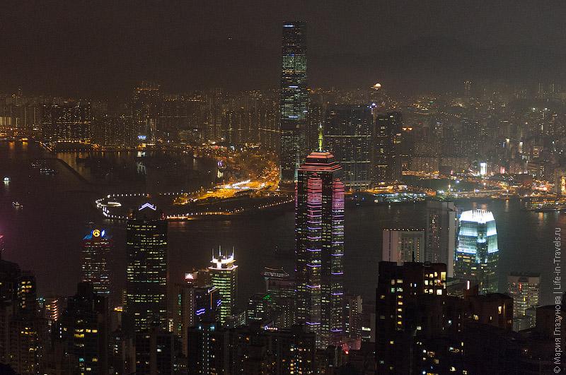Пик Виктория «The Sky Terrace 428» – вид на Гонконг