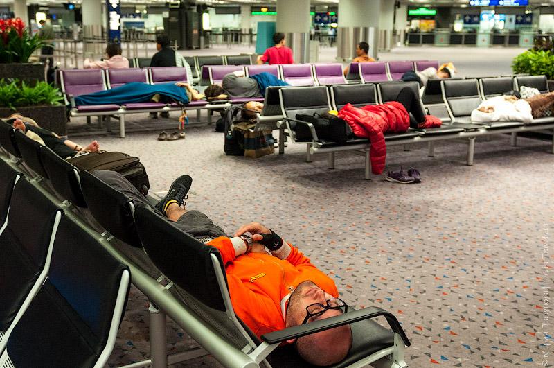 Аэропорт в Гонконге