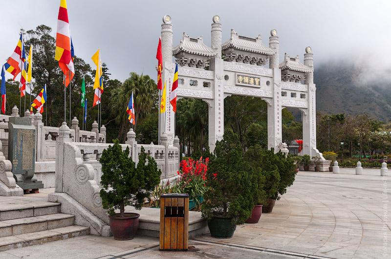 Площадка напротив Большого Будды