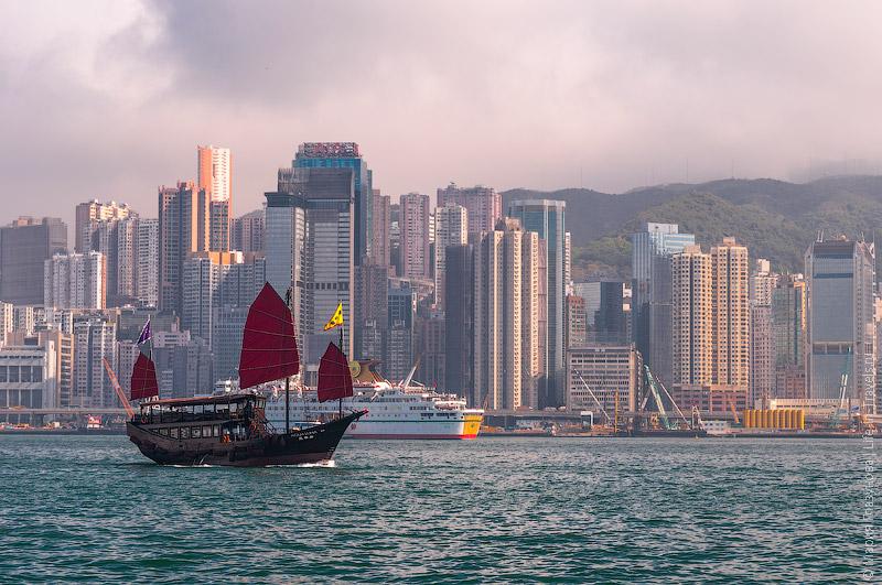 Джонка, Гонконг