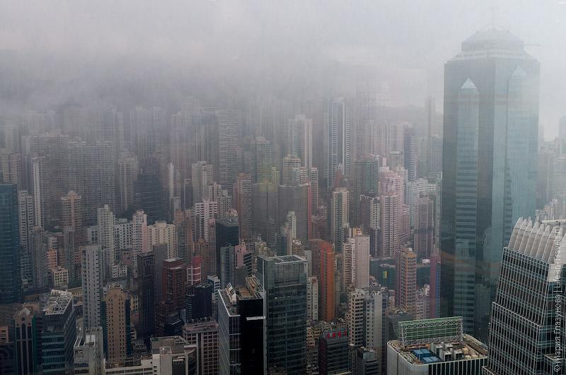 Музей денег – вид на Гонконг