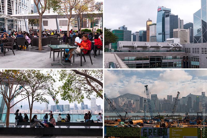 Виды с крыши IFC Mall