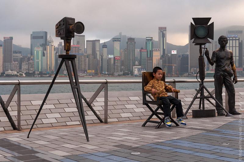 Аллея Звёзд в Гонконге
