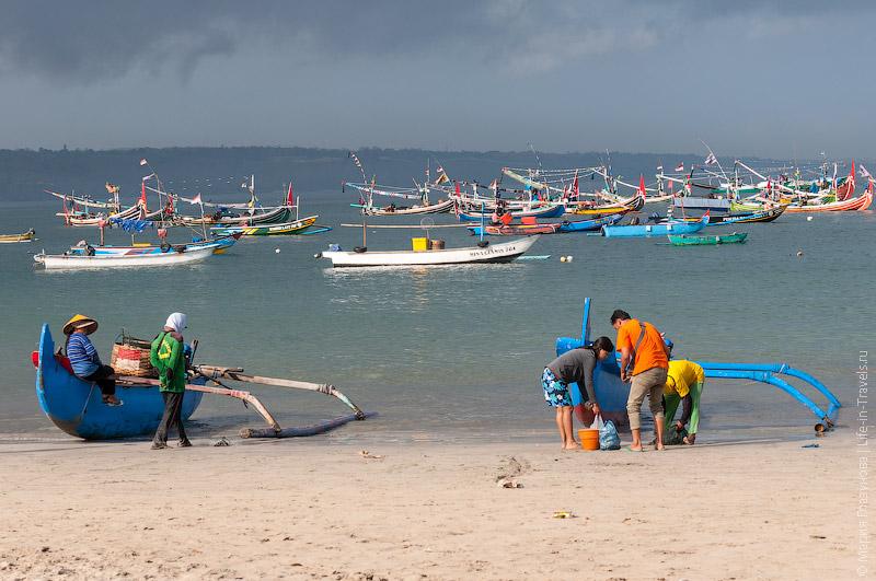 Балийские рыбаки